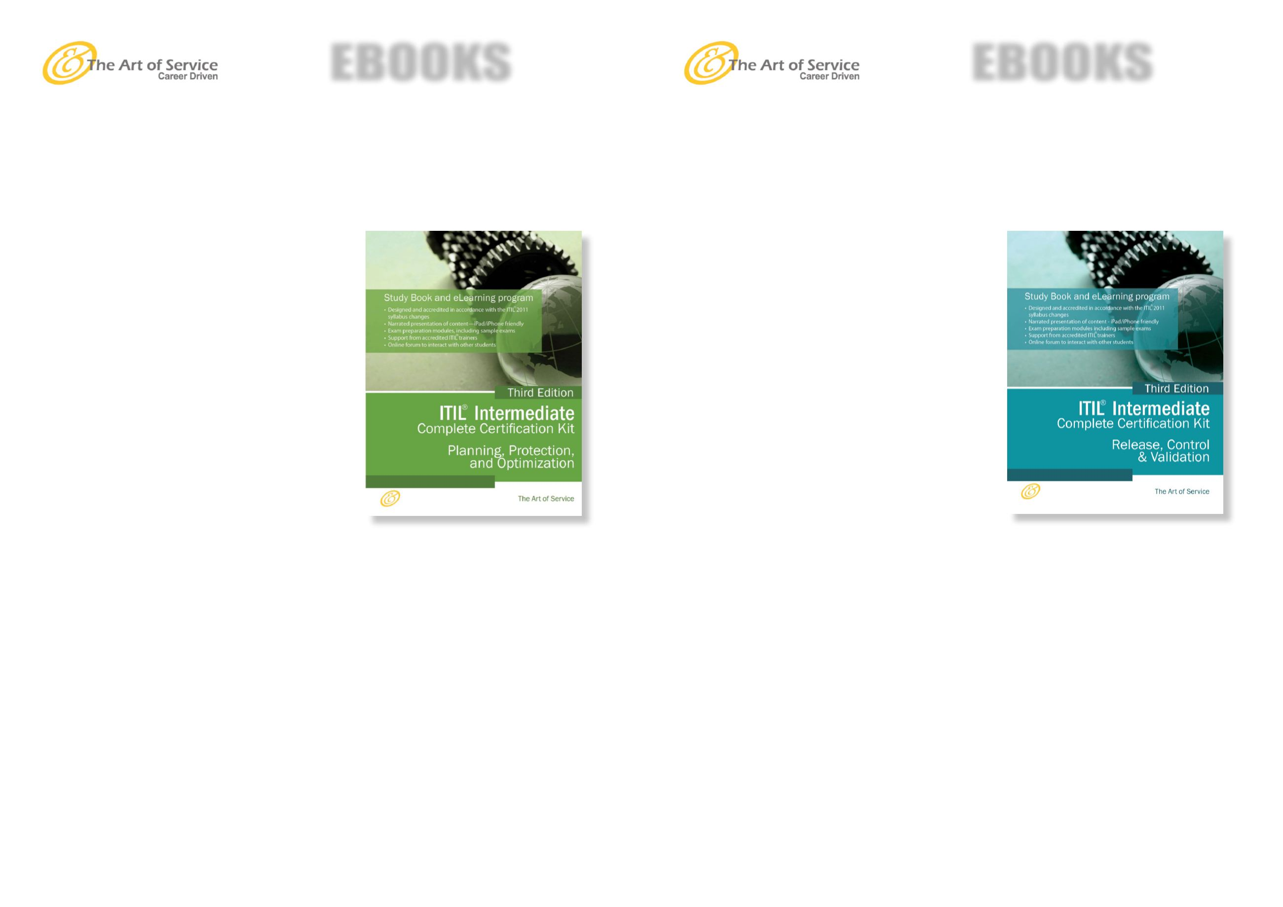 Ebook Catalog The Art Of Service